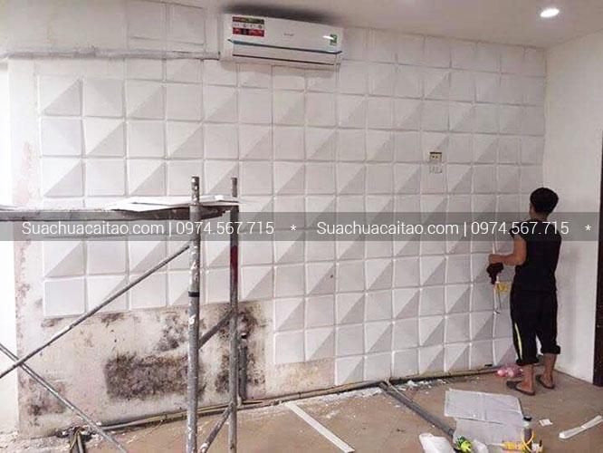 Chống thấm tường và ốp lát gạch 3D chống nóng