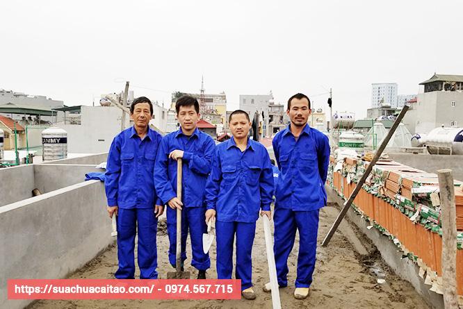 Đội thợ sửa nhà quận Đống Đa hùng hậu, nhiều năm kinh nghiệm