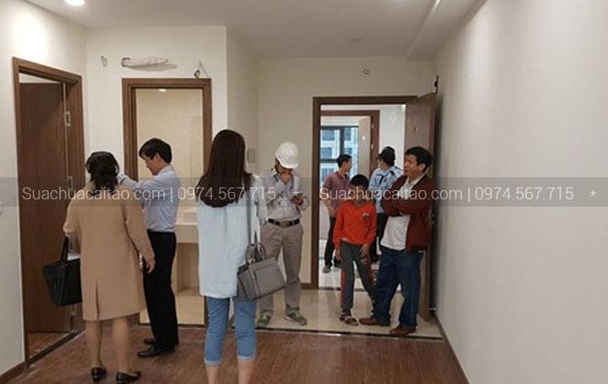 Khách hàng hài lòng với dịch vụ sửa chữa nhà quận Hoàng Mai