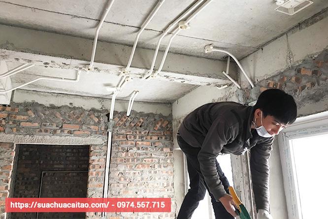 Trở thành người tiên phong cho ngành sửa chữa cải tạo nhà tại quận Long Biên.