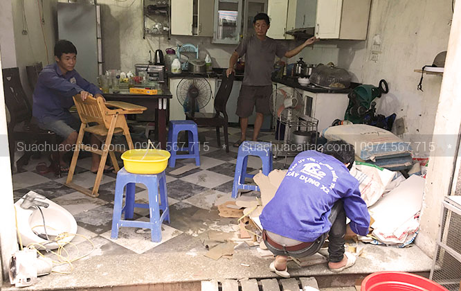 20 năm kinh nghiệm sửa chữa nhà quận Cầu Giấy