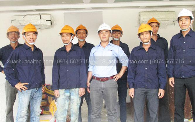Đội ngũ kỹ sư nhiều năm kinh nghiệm xây dựng, sửa chữa