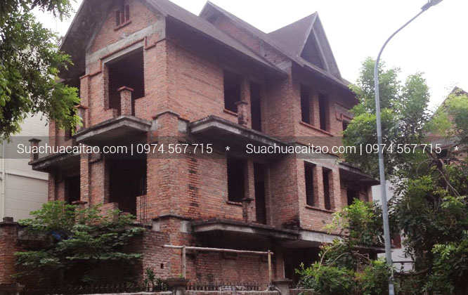 Hoàn thiện nhà xây thô quận Hà Đông