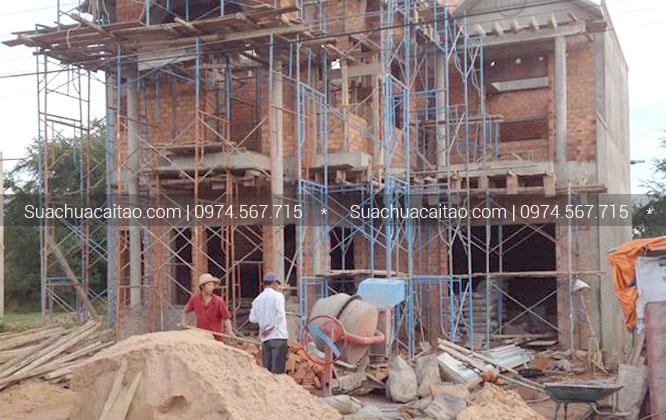 Hoàn thiện nhà xây thô quận Tây Hồ
