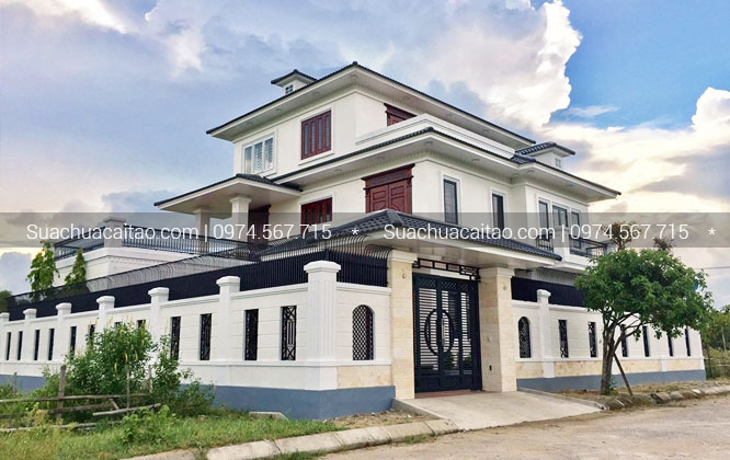 Hoàn thiện nhà xây thô quận Thanh Xuân