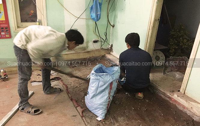 Quy trình làm việc của dịch vụ sửa chữa nhà tại quận Hà Đông