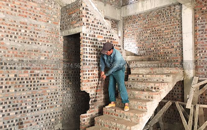 Quy trình làm việc của dịch vụ sửa chữa nhà tại quận Tây Hồ