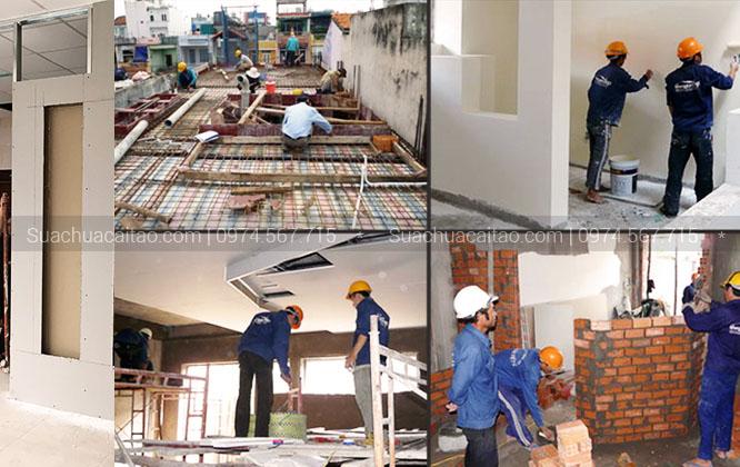 Quy trình sửa nhà Hà Nội của Dương Gia gồm 5 bước