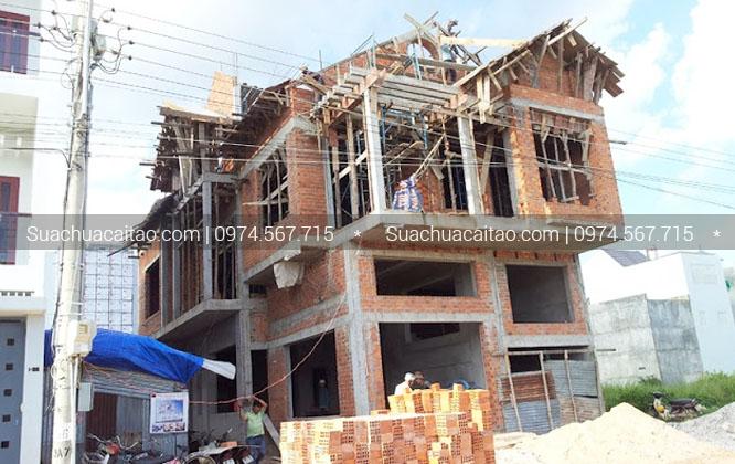 Quy trình tiến hành hoàn thiện nhà xây thô quận Thanh Xuân