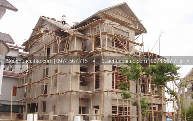 Quy trình tiến hành thi công hoàn thiện nhà xây thô quận Tây Hồ