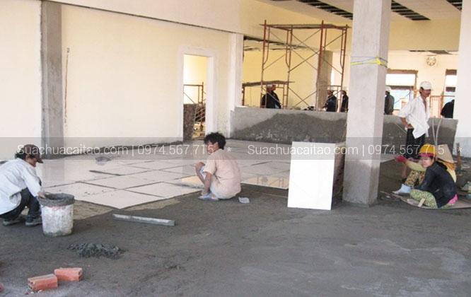 Sửa chữa nhà gia đình bác Quyến - Khang tại 54 Hoàng Quốc Việt, Cầu Giấy
