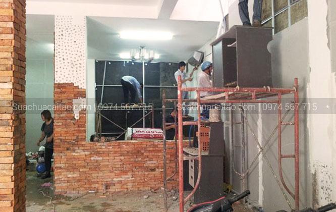 Sửa chữa nhà, phá dỡ nhà đã cũ hoặc xuống cấp Tây Hồ