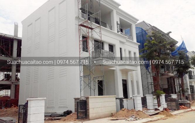 Hoàn thiện nhà xây thô tại quận Hoàng Mai