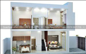 Những ưu điểm của thiết kế nhà 2 tầng 3 phòng ngủ
