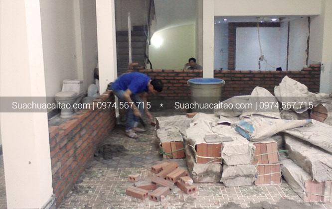 Quy trình tiến hành thi công sửa nhà trọn gói tại quận Thanh Xuân