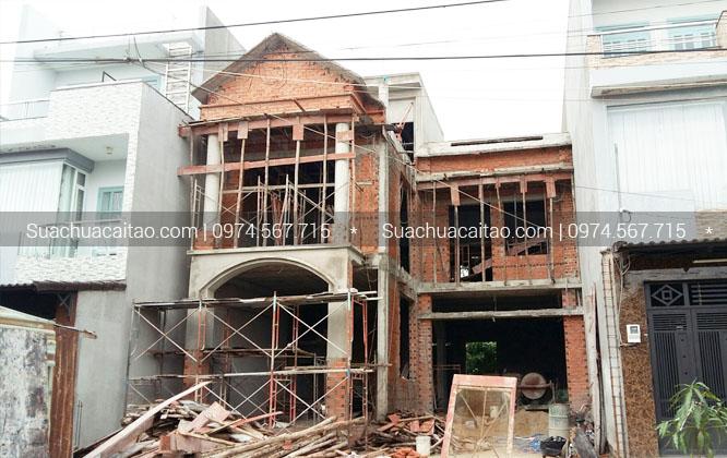 Thi công hoàn thiện nhà xây thô tại quận Hoàng Mai