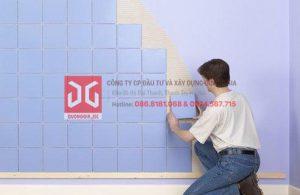 Cách tính gạch ốp tường và cách tính gạch lát nền theo m2
