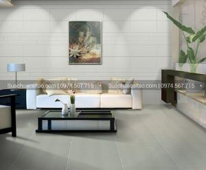 Dùng gạch men matt cho phòng bếp và phòng khách nhà bạn