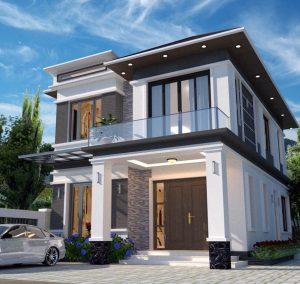 Thiết kế biệt thự quận Ba Đình