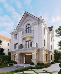 Thiết kế biệt thự quận Hoàng Mai