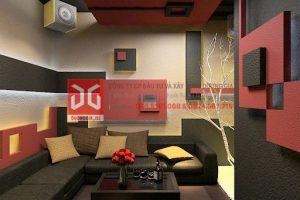 Thiết kế phòng karaoke gia đình đơn giản mà cá tính
