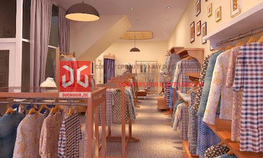 Thiết kế shop theo phong cách vintage với gam màu nhẹ nhàng hoài cổ