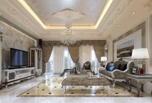 Thiết kế nội thất biệt thự Athena Fulland kiến trúc Pháp Tân cổ điển