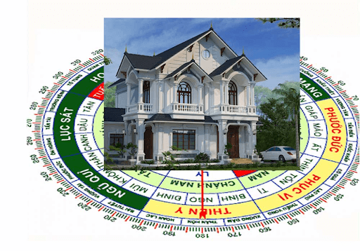 Tư vấn lựa chọn, thiết kế nội thất, màu sơn hợp phong thủy trong hoàn thiện biệt thự KĐT Geleximco